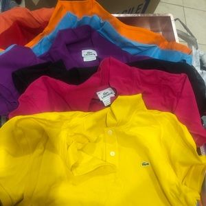 Lacoste womens polos